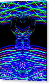 The Light Painter 58 Acrylic Print