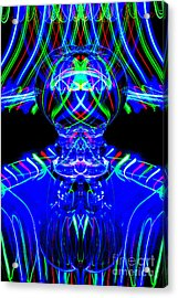The Light Painter 59 Acrylic Print