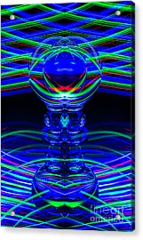 The Light Painter 60 Acrylic Print