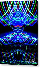 The Light Painter 61 Acrylic Print