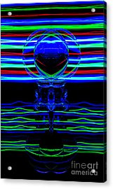 The Light Painter 63 Acrylic Print
