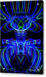 The Light Painter 66 Acrylic Print