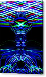 The Light Painter 67 Acrylic Print