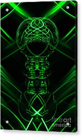 The Light Painter 70 Acrylic Print