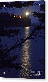 Acrylic Print featuring the photograph The Light Shines Through by Larry Ricker