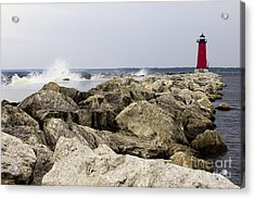 The Light Acrylic Print by Tara Lynn