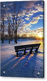 Acrylic Print featuring the photograph The Light That Beckons by Phil Koch