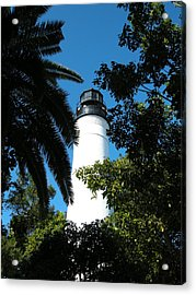 The Lighthouse Acrylic Print by Audrey Venute