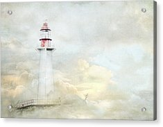 The Lighthouse Acrylic Print by Theresa Tahara