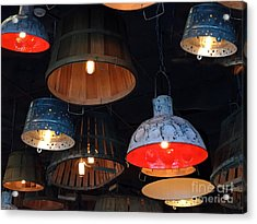 The Lights Above Acrylic Print