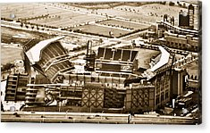 The Linc - Aerial View Acrylic Print