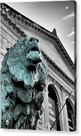 The Lion-arted Acrylic Print