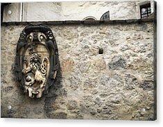 The Lion Of Salzburg Acrylic Print