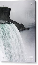 Acrylic Print featuring the photograph The Liquid Curtain by Dana DiPasquale