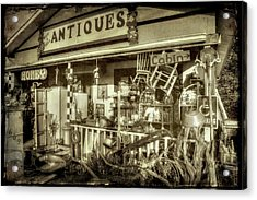 The Little Antique Store Acrylic Print