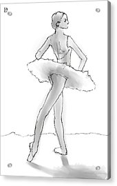 The Little Dancer Acrylic Print by H James Hoff