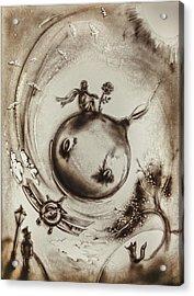 The Little Prince Acrylic Print by Elena Vedernikova
