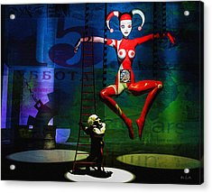 The Little Puppet Master Acrylic Print by Bob Orsillo