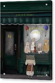 The Little Teddy Store Acrylic Print