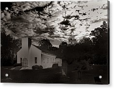 Acrylic Print featuring the photograph The Living And The Dead by Joseph G Holland
