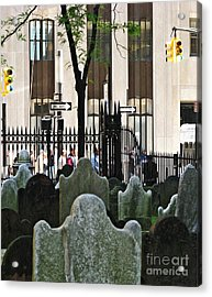 The Living And The Dead Acrylic Print by Sarah Loft