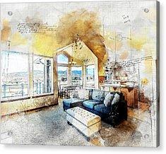 The Living Room Acrylic Print