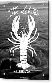 The Lobster Acrylic Print by Juan Bosco