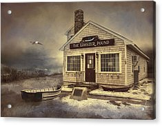 Acrylic Print featuring the photograph The Lobster Pound by Robin-Lee Vieira