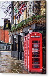The Local Acrylic Print by Heather Applegate