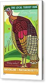 The Local Turkey Run Acrylic Print