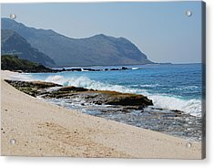 Acrylic Print featuring the photograph The Local's Beach by Amee Cave