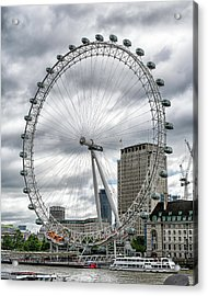 Acrylic Print featuring the photograph The London Eye by Alan Toepfer
