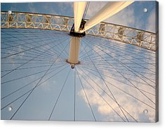 The London Eye Acrylic Print by Iain MacVinish