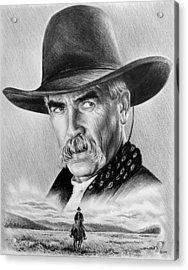 The Lone Rider Acrylic Print