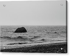 The Lone Rock Acrylic Print