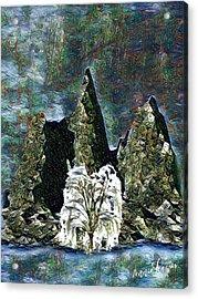 The Loneliest Tree Acrylic Print