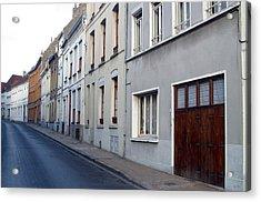 The Lonely Street Acrylic Print by Jez C Self