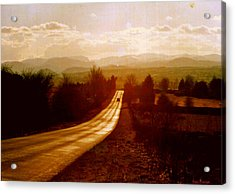 The Long And Lonely Road....... Acrylic Print