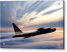 The Long Goodbye Acrylic Print by Peter Chilelli