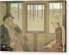 The Long Journey Acrylic Print