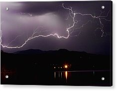 The Long Strike Acrylic Print by James BO  Insogna