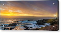 The Long View Acrylic Print by James Heckt