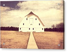 Acrylic Print featuring the photograph The Long Walk by Julie Hamilton