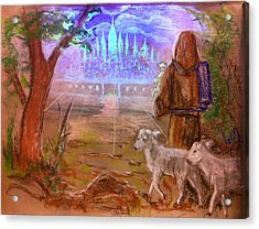 The Lord Is My Shepherd Acrylic Print