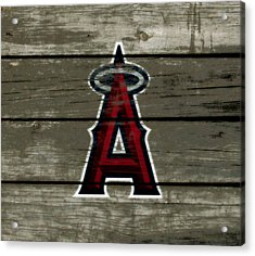 The Los Angeles Angels Of Anaheim 1a Acrylic Print