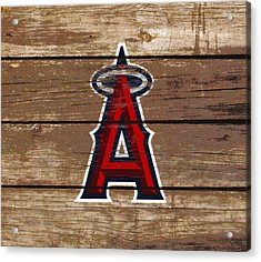 The Los Angeles Angels Of Anaheim 1c Acrylic Print