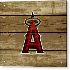 The Los Angeles Angels Of Anaheim Acrylic Print