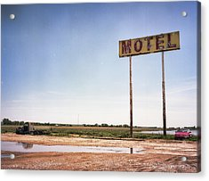 The Lost Motel Acrylic Print by HW Kateley