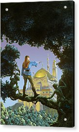 The Lost Palace Acrylic Print by Richard Hescox