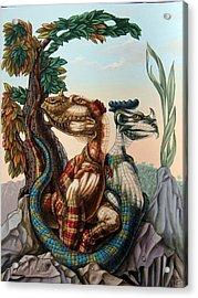 The Lost World  By Sir Arthur Conan Doyle Acrylic Print